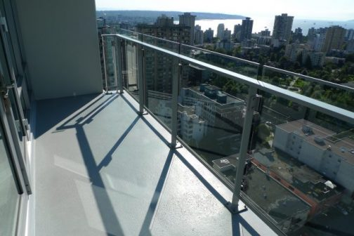 vancouver scenic english bay strata approved balcony cleaning and window cleaning