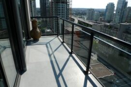 yaletown vancouver cleaning for balconies and patios looking at vancouver house
